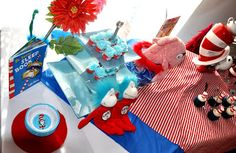 Dr. Seuss Theme Party Ideas - Baby Shower |