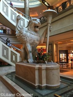 The Venetian draws its theme from the plazas, architecture, & canals of Venice, Italy, and follows the example of New York–New York, Mandalay Bay, Luxor, & Paris Las Vegas in bringing the icons of world travel to Las Vegas. It's like taking a trip back to the artistic, architectural, & commercial center of the world in the 16th century. You cross a 585,000-gallon canal on the steeply pitched Rialto Bridge, shadowed by the Campanile Bell Tower, to enter the Doge's Palace.