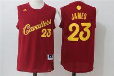 e4ba9e6f373e 2017 Cavaliers 23 LeBron James Red Cheap Nba Jerseys