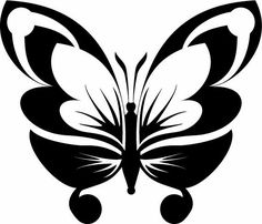 Silhouette Art, Silhouette Cameo Projects, Stencil Patterns, Stencil Designs, Candlewicking Patterns, Stencils, Clipart Design, Frame Clipart, Butterfly Art