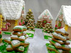 Gingerbred houses
