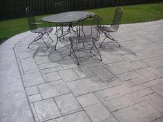 Concrete Patios | stamped concrete
