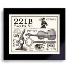 Hey, I found this really awesome Etsy listing at https://www.etsy.com/listing/178223324/sherlock-art-221b-baker-street-geekery