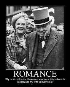 Mr. and Mrs. Winston Churchill.