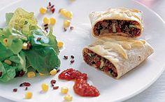 Tortillas med tomatsalsa