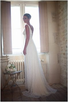 backlace lace wedding dress #weddingdress #lace
