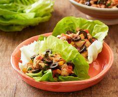 Fajita Chicken Lettuce Wraps | Lindsay