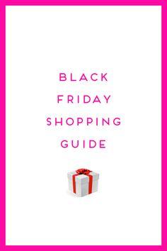 BLACK FRIDAY SHOPPING GUIDE by Design Darling  #EstiloDeVida, #Fashion, #GiftGuides, #LifeStyle, #Moda