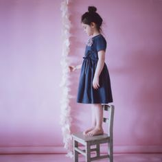 We're in love with this image in Papier Mache - beautifully styled and photographed by Deborah Sfez and Melanie Rodriguez. Magazines For Kids, Frocks, Cute Kids, Little Ones, Family Photos, Muse, Kids Fashion, Creations, Cute Outfits