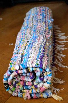 This Is The Rug Made With Peg Loom From Once Upon A Time