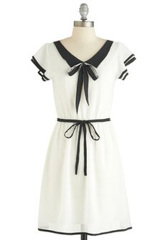 Feeling nautical with this ModCloth dress. And all of these dresses are around $50!
