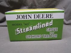 John Deere Model AO Streamlined Grove & Orchard Tractor. Example of an Auction Item Sold Online by Hansen & Young, Inc. Auction Items Were Located at Prairie Farm, WI.