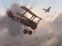 Furball, by Russell Smith (Sopwith Triplane)