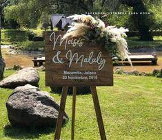 PRODUCTOS   Letreros para boda Wooden Signs, Products, Weddings
