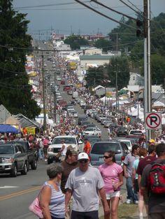 Labor Day Flea Market - Hillsville, Virginia