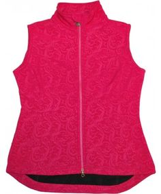 c73eb233ecb Outback Trading Company Floral Embossed Pink Vest. Western Jewelry