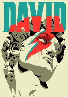 'david bowie' Poster by David Bowie Poster, David Bowie Art, David Bowie Starman Lyrics, David Bowie Quotes, Arte Bob Marley, Arte Punk, Art Actuel, Poster Print, Gig Poster