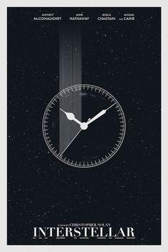 Interstellar - Minimalist Movie Poster