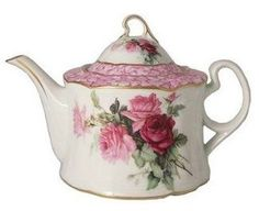 Rose Bouquet Teapot