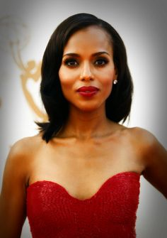 Kerry Washington Kerry Marisa Washington (born January 31 1977) is an American actress. Since 2012 Washington has gained wide public recognition for starring in the ABC drama Scandal a Shonda Rhimes series in which she plays Olivia Pope a crisis management expert to politicians and power brokers in Washington DC. For her role she has been nominated twice for a Primetime Emmy Award for Outstanding Lead Actress in a Drama Series Screen Actors Guild Award for Outstanding Performance by a…