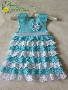 Click to view pattern for - Gentle dress for girl