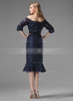 Chiffon Spitze Kleid für die Brautmutter