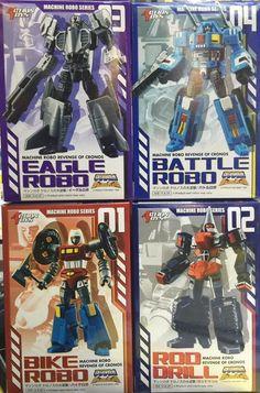 (50.00$)  Buy here  - Action Toys Machine Robo Revenge of Cronos 01-04 4pcs figure,In stock!