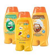 NATURALS KIDS Shampoo & Conditioner: Sale $3.99