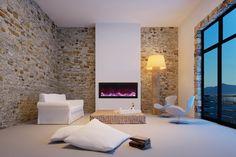 Amantii 40″ wide 12″ deep Built-in Electric Fireplace (BI-40-DEEP)