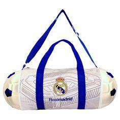 La Liga Real Madrid CF Collapsible Soccer Ball Duffle Bag