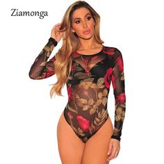 d515d57bdf2 Bodysuits. Bodysuit TopsWomens BodysuitBody TopLong Sleeve Mesh BodysuitRompers  WomenJumpsuits For WomenBodycon ...