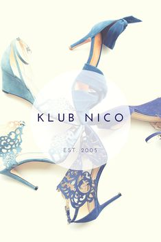 Klub Nico has the perfect shoes from engagement party to honeymoon