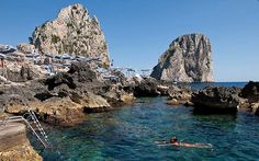 La Fontelina - Bathing Establishments - Capri, Italy - Honeymoon!