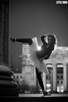 500px / I'm a Fashion Ballet Dancer by Little Shao