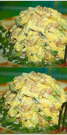 САЛАТ «НЕЖНЫЙ» — И НЕВЕРОЯТНО ВКУСНЫЙ Tuna Pasta, Chopped Salad, Russian Recipes, Best Appetizers, Food Photo, Food Hacks, Food Dishes, Dessert Recipes, Food And Drink