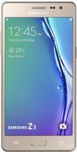 Samsung Tizen Z3 Smartphone at Rs. 6990 From Flipkart