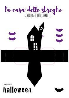 Tutorial da stampare per Halloween - casa della strega