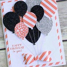Karten zum geburtstag luftballons selbst basteln Make birthday cards and make balloons yourself The post Make birthday cards and make balloons yourself appeared first on DIY. Bday Cards, Kids Birthday Cards, Funny Birthday Cards, Handmade Birthday Cards, Diy Birthday, Birthday Gifts, Birthday Greeting Card, Birthday Quotes, Birthday Greetings