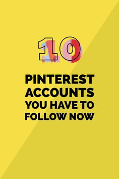 Today, I am rounding up my top 10 favorite Pinterest accounts. These lovely accounts inspire me and brighten up my feed daily.