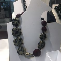 Angela Caputi Italy Black And White Resin Necklace NWT | Jewelry & Watches, Fashion Jewelry, Necklaces & Pendants | eBay!
