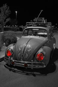 '60 VW Beetle  Man You Got RED EYE!