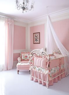 fit for a princess Baby Nursery Decor, Baby Decor, Nursery Room, Girl Nursery, Nursery Ideas, Girls Bedroom Sets, Baby Bedroom, Kids Bedroom, Kids Room Art