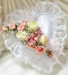Pink Sympathy flower arrangements are perfect way to pay tribute to the deceased and the family. we have great selection of Pink Sympathy flower arrangements Casket Flowers, Funeral Flowers, Wedding Ring Cushion, Wedding Pillows, Ring Bearer Pillows, Ring Pillows, Blue Flower Arrangements, Wedding Bouquets, Wedding Flowers