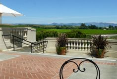 This is Henrietta's home looking out into the Underwood vineyard.