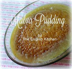 The English Kitchen: Malva Pudding Easy Smoothie Recipes, Snack Recipes, Dessert Recipes, Cooking Recipes, Cake Recipes, Malva Pudding, Tandoori Masala, English Kitchens, Coconut Recipes