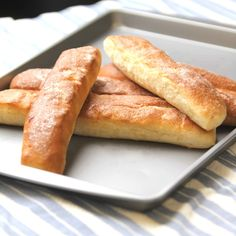 easy butter garlic breadsticks