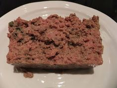 Mamma Britas matblogg: Grov, hjemmelaget leverpostei Banana Bread, Bacon, Cooking Recipes, Beef, Desserts, Food, Party, Meat, Tailgate Desserts