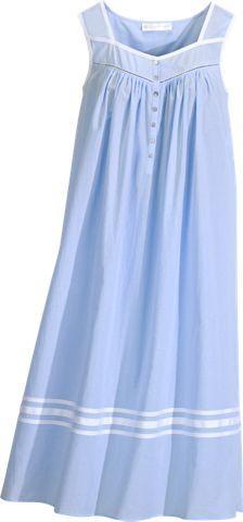 9cc501576b Eileen West Cotton Nightgown