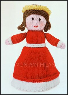 Knitting pattern postman pat doll with clothes jess cat soft knitting pattern topsy turvy doll sleeping beauty fairy tale knits toy dt1010fo