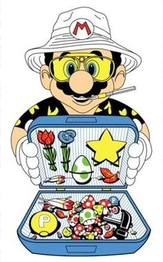Fear and loathing in the mushroom kingdom.